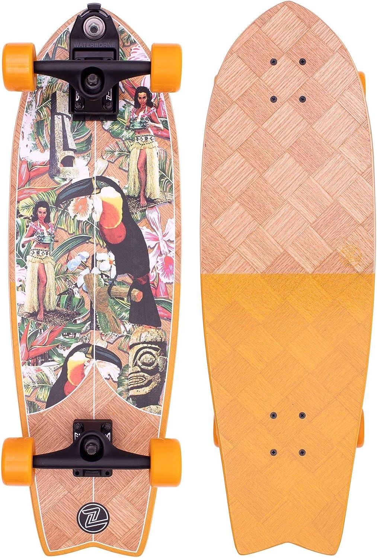 Z-Flex Skateboard - Banana Train Surfskate Fish