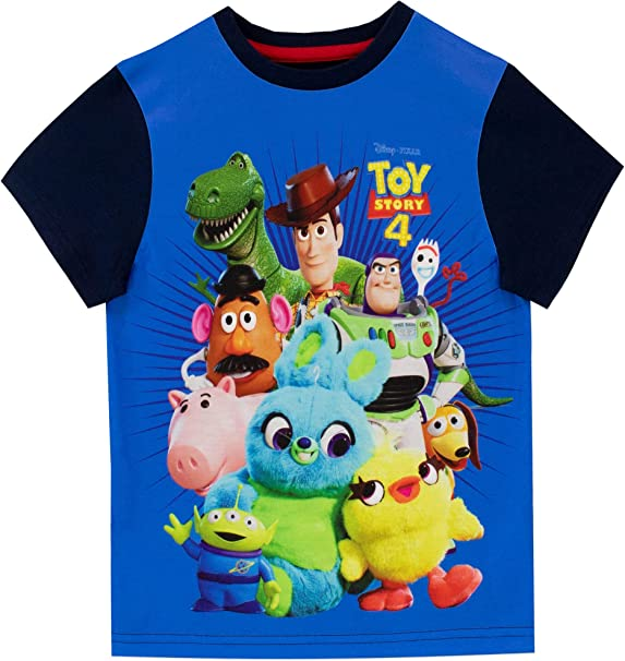 Toy Story Mens 4 Ducky /& Bunny Panels T-Shirt