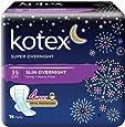 Kotex Super Overnight Feminine Care Pads, 35cm, 14ct