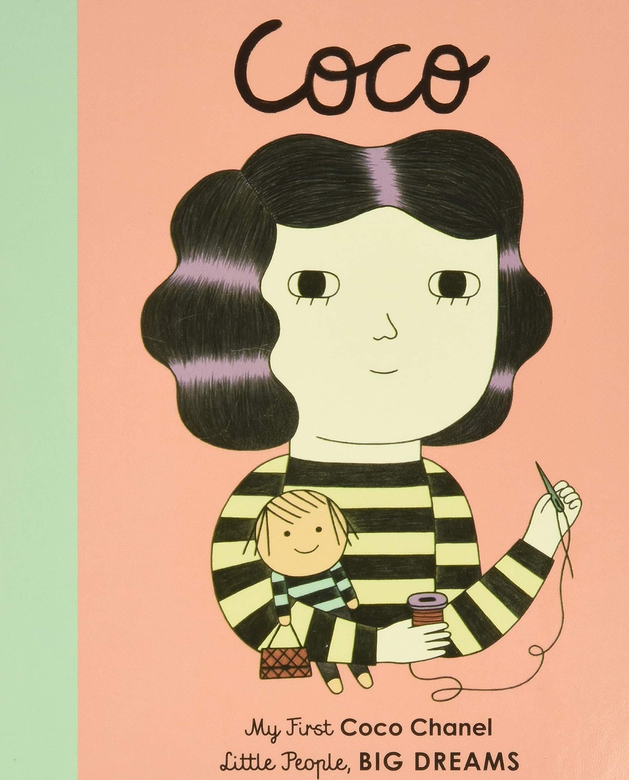 Coco Chanel: My First Coco Chanel (Little People, BIG DREAMS, 1): Sanchez  Vegara, Maria Isabel, Albero, Ana: 9781786032454: Amazon.com: Books