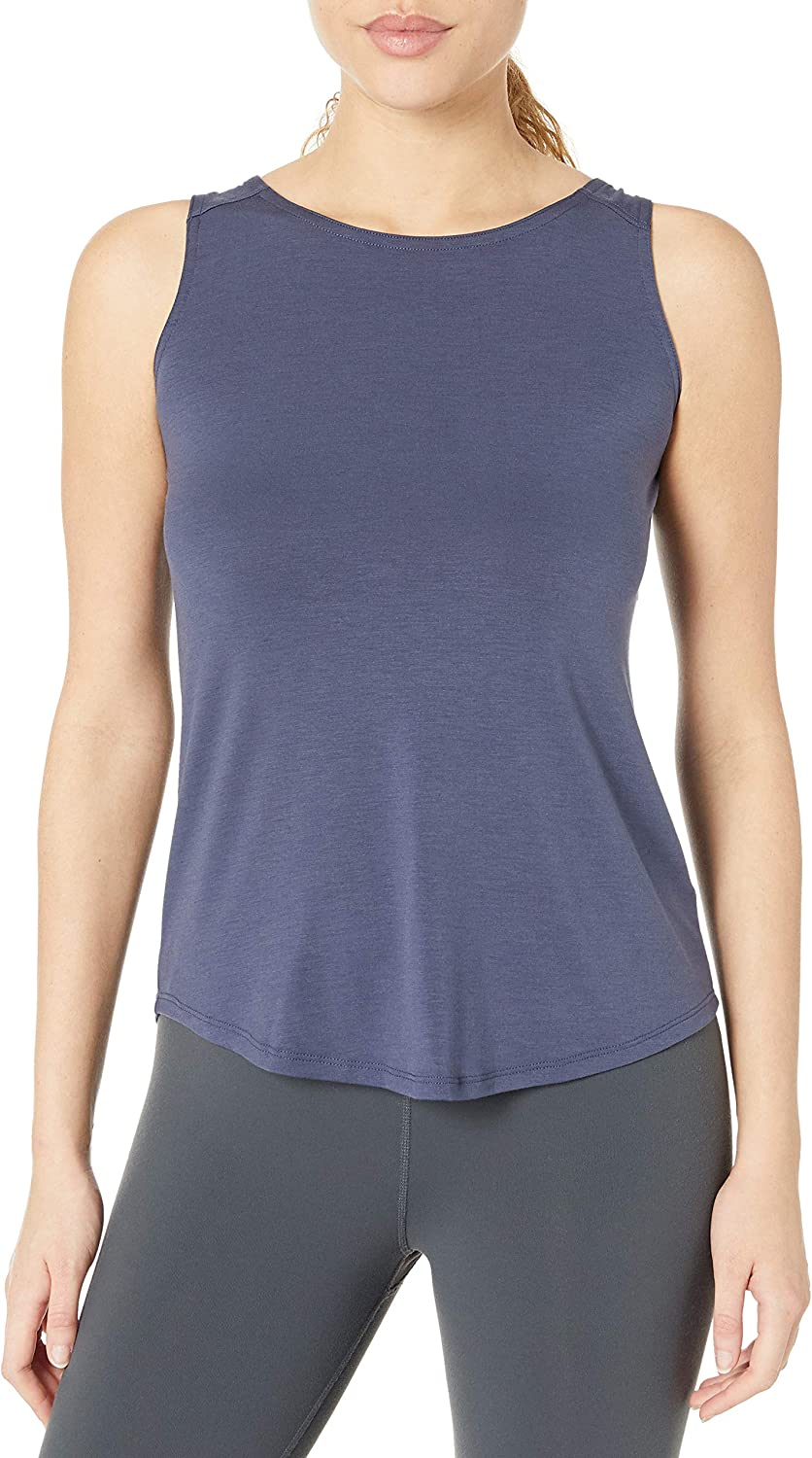 Columbia Women's Essential Elements Sleeveless Tank Top, Moisture Wicking, Sun Protection