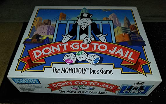 Dont Go to Jail: The Monopoly Dice Game (1991) by Parker Brothers: Amazon.es: Juguetes y juegos