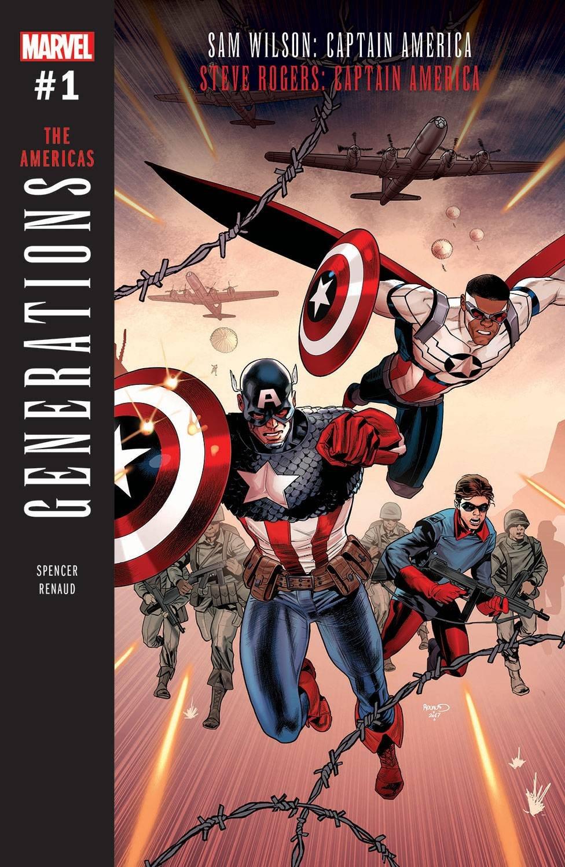 Download GENERATIONS CAPTAIN AMERICAS #1 ebook