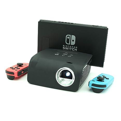 AAXA S1 Mini proyector Compatible con Nintendo Switch, batería de ...
