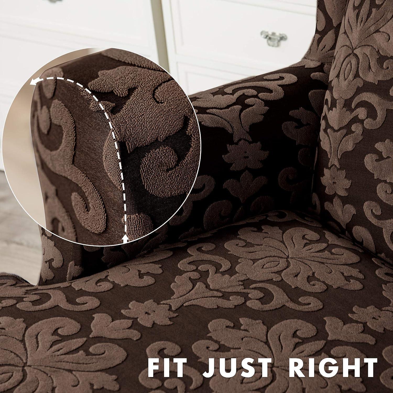 Amazon.com: Chun Yi - 2 fundas para sillón con respaldo de ...