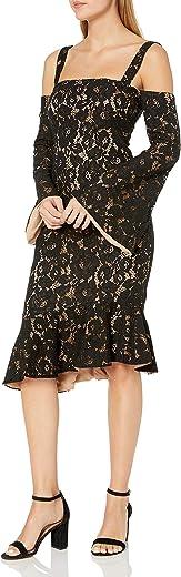 فستان نسائي من MINKPINK من Marseille بأكتاف باردة