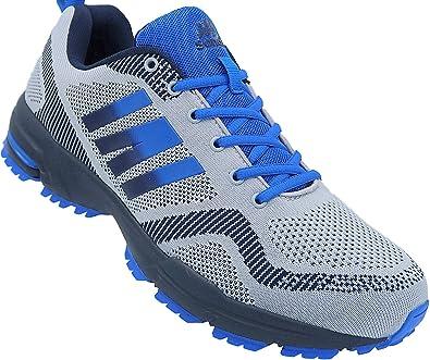 Zapatillas Deportivas para Hombre, Talla 47 – 50, número de Referencia 1388-J, Color Gris, Talla 50 EU: Amazon.es: Zapatos y complementos