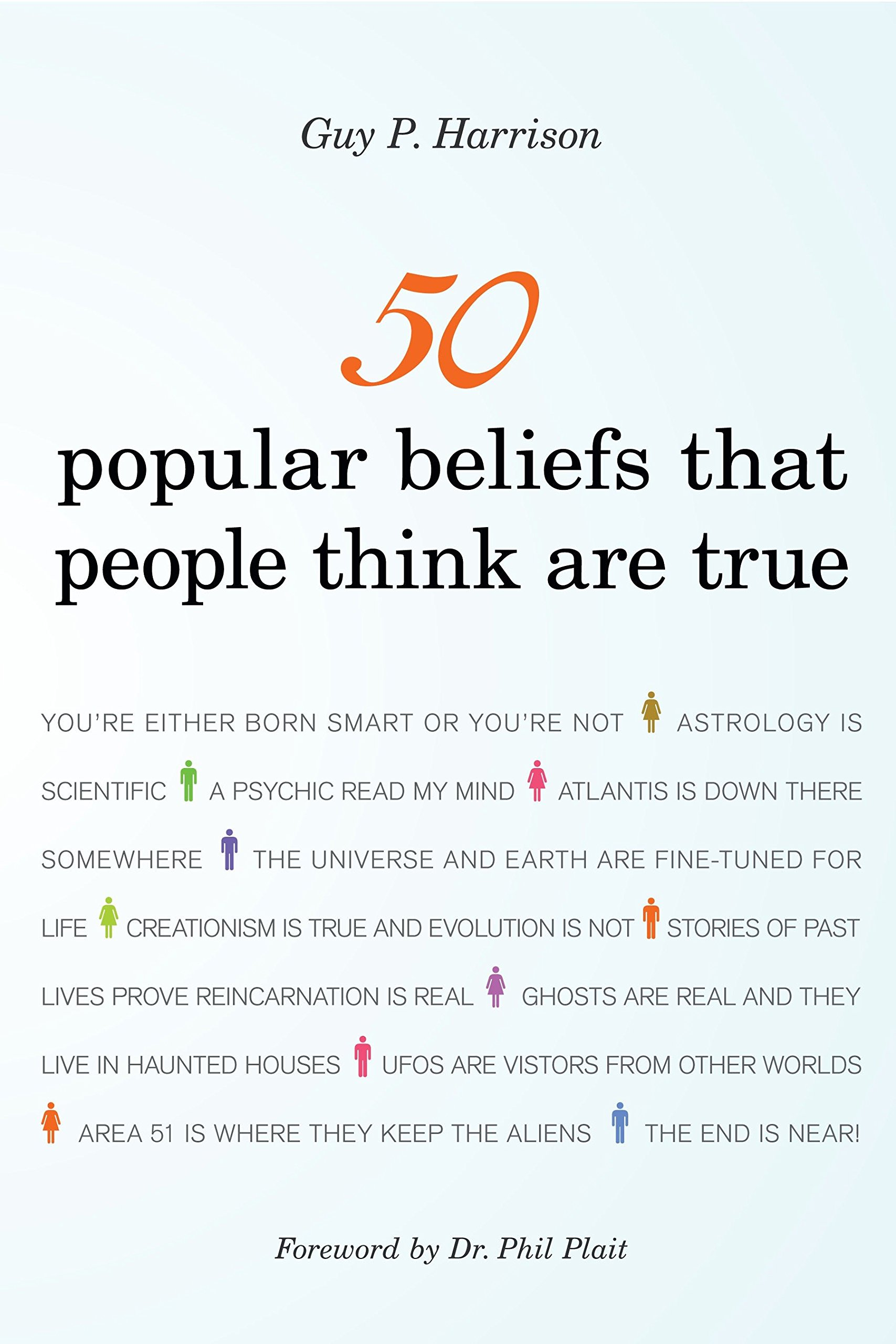 amazon 50 popular beliefs that people think are true 50 series