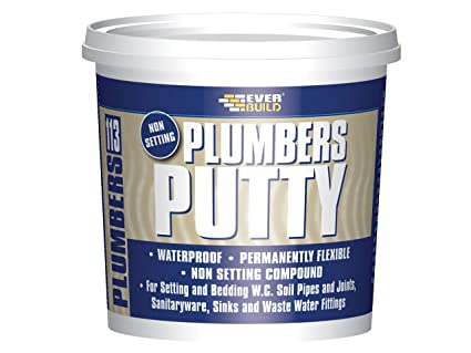 Everbuild EVBPLUMB750 Plumbers Putty 750 Grams