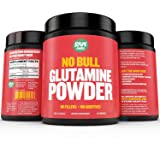 Raw Barrels - Pure L Glutamine Powder - Unflavored and Micronized - Lifetime Moneyback Guarantee - 300g 60 Servings - with Digital Guide