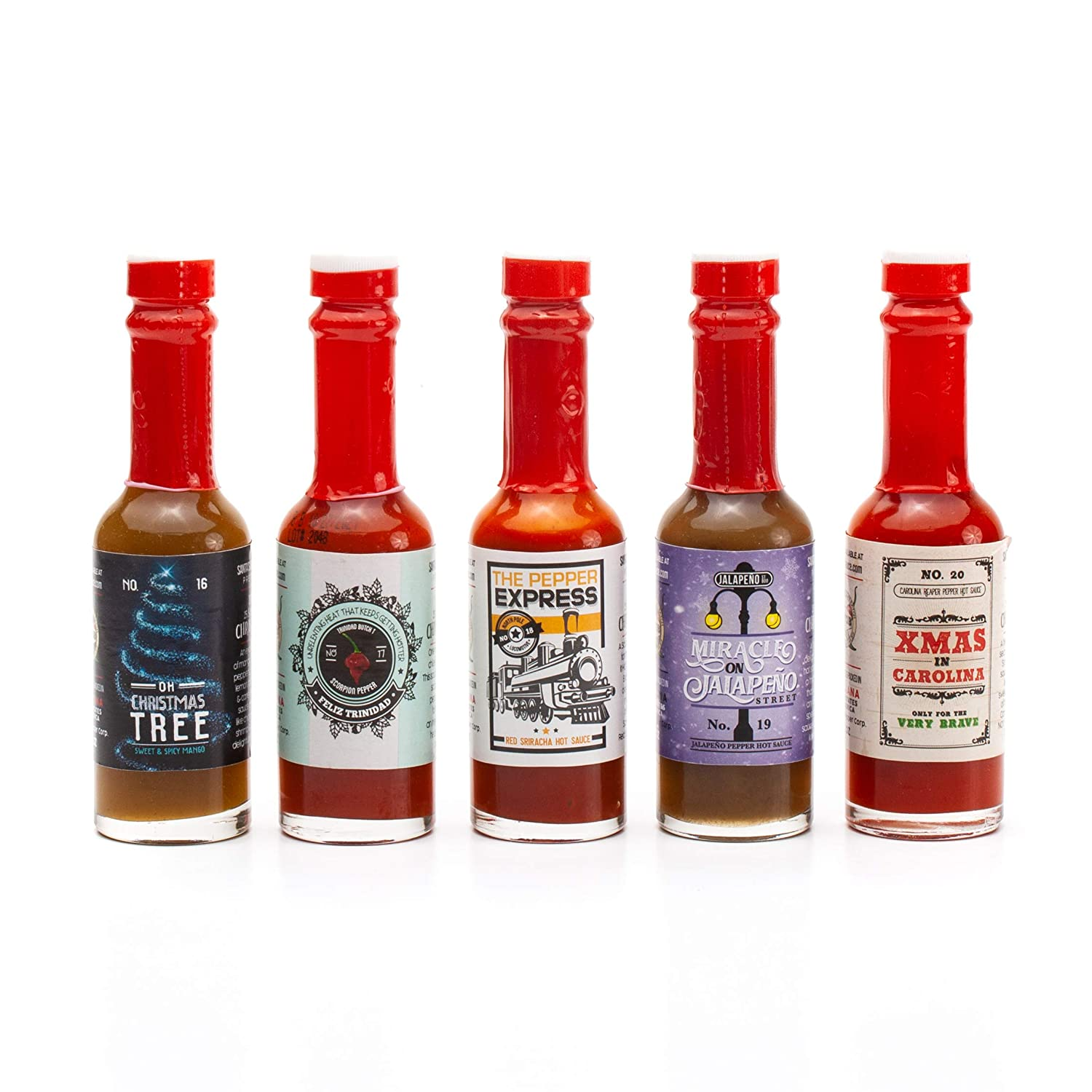 Amazon.com : Hot Sauce Gift Set Advent Calendar The 25 Sauces of ...