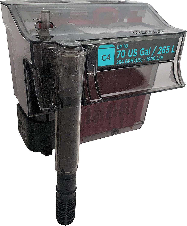 Fluval C Series Power Filter, Fluval C4 ( Best HOB filters)
