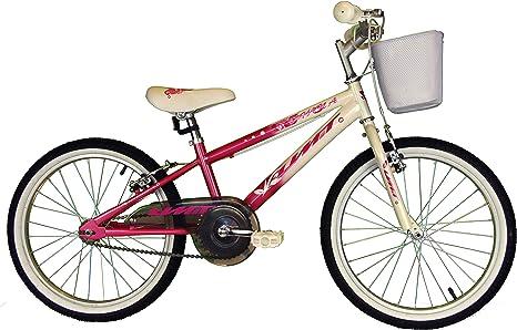 Umit Bicicleta 20 Pulgadas XT20, Unisex niños, Rosa/Blanca: Amazon.es: Deportes y aire libre