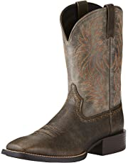 ARIAT Men's Sport Wide Square Toe Western Cowboy Boot