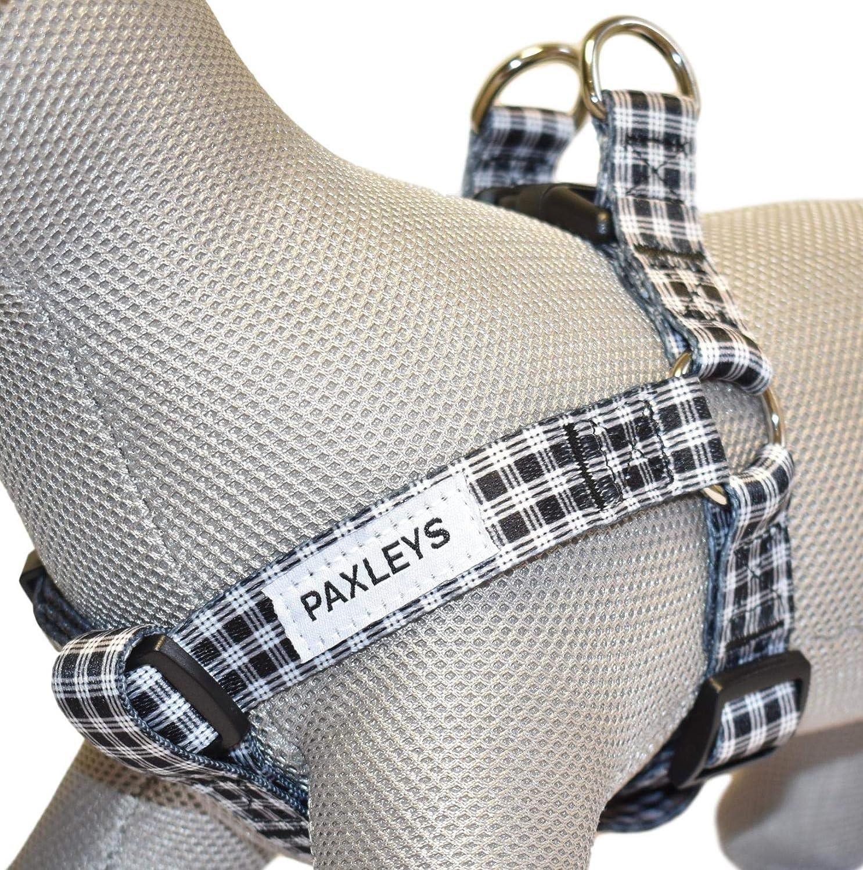 color blanco y negro Paxleys Arn/és para perro de tart/án tallas mediana y grande