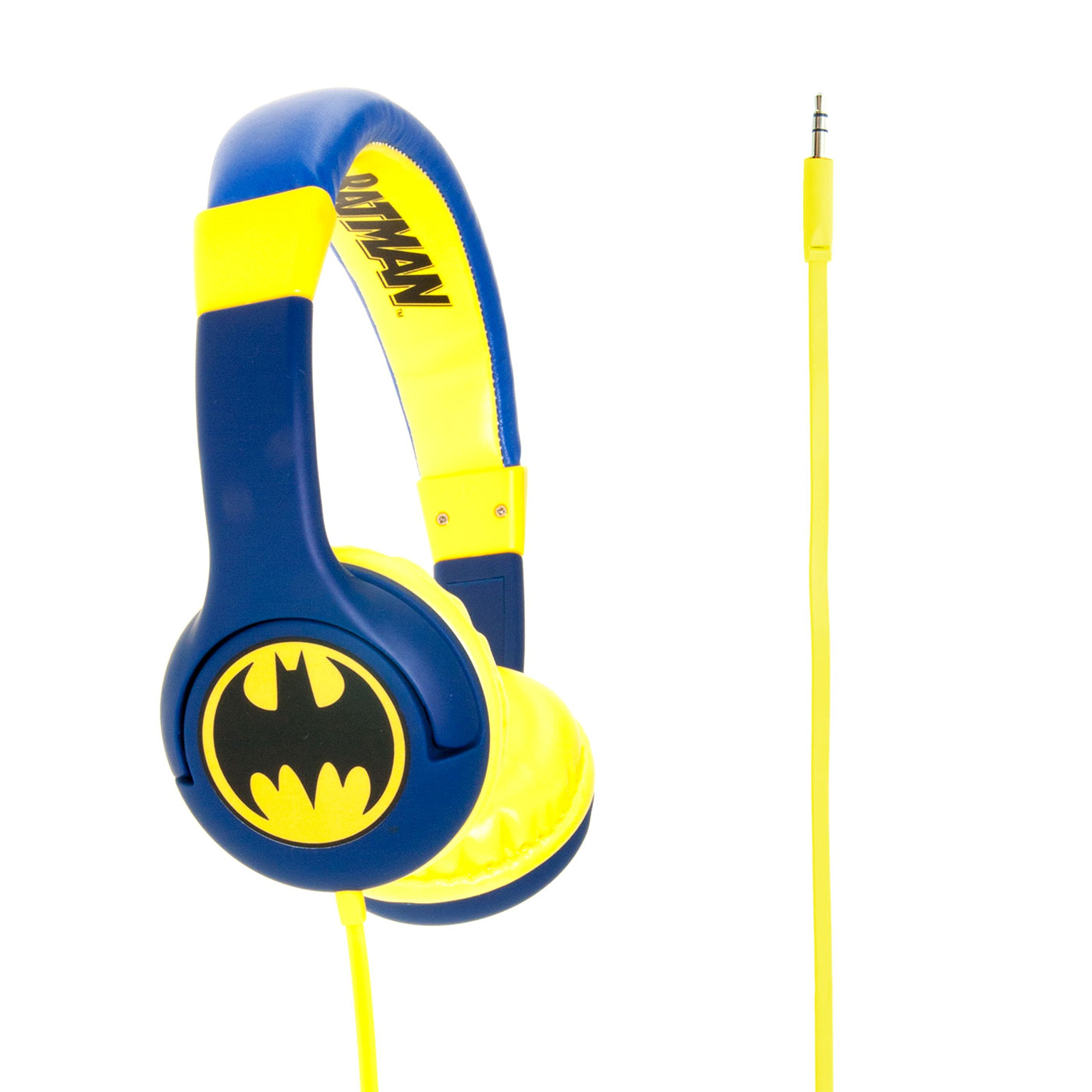 "Batman Children's Headphones ""The Caped Crusader"""