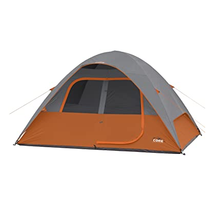 CORE 6 Person Dome Tent 11u0027 ...  sc 1 st  Amazon.com & Amazon.com : CORE 6 Person Dome Tent 11u0027 x9u0027 : Sports u0026 Outdoors