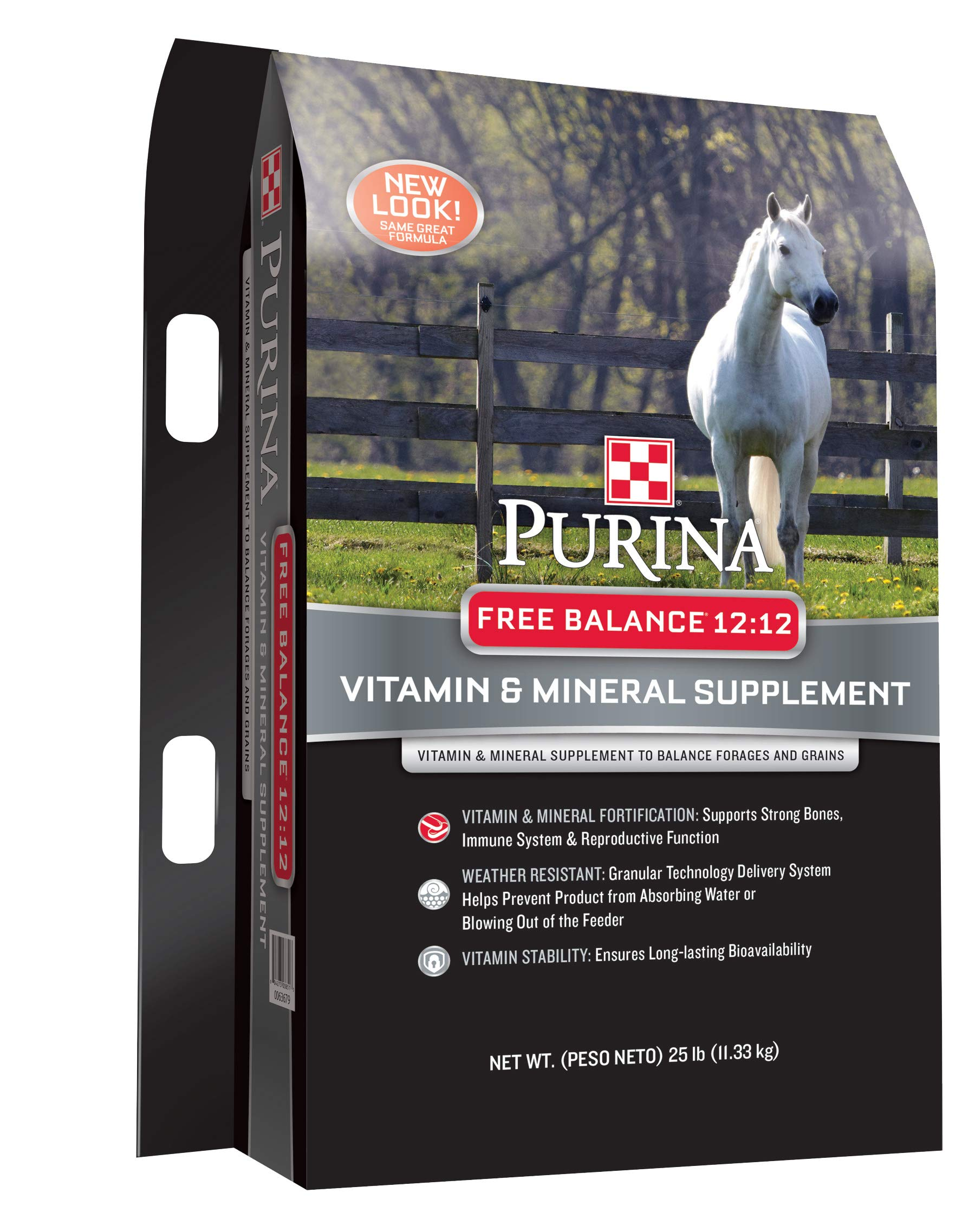 Purina Free Balance 12:12 Horse Supplement, 25 lb Bag by Purina