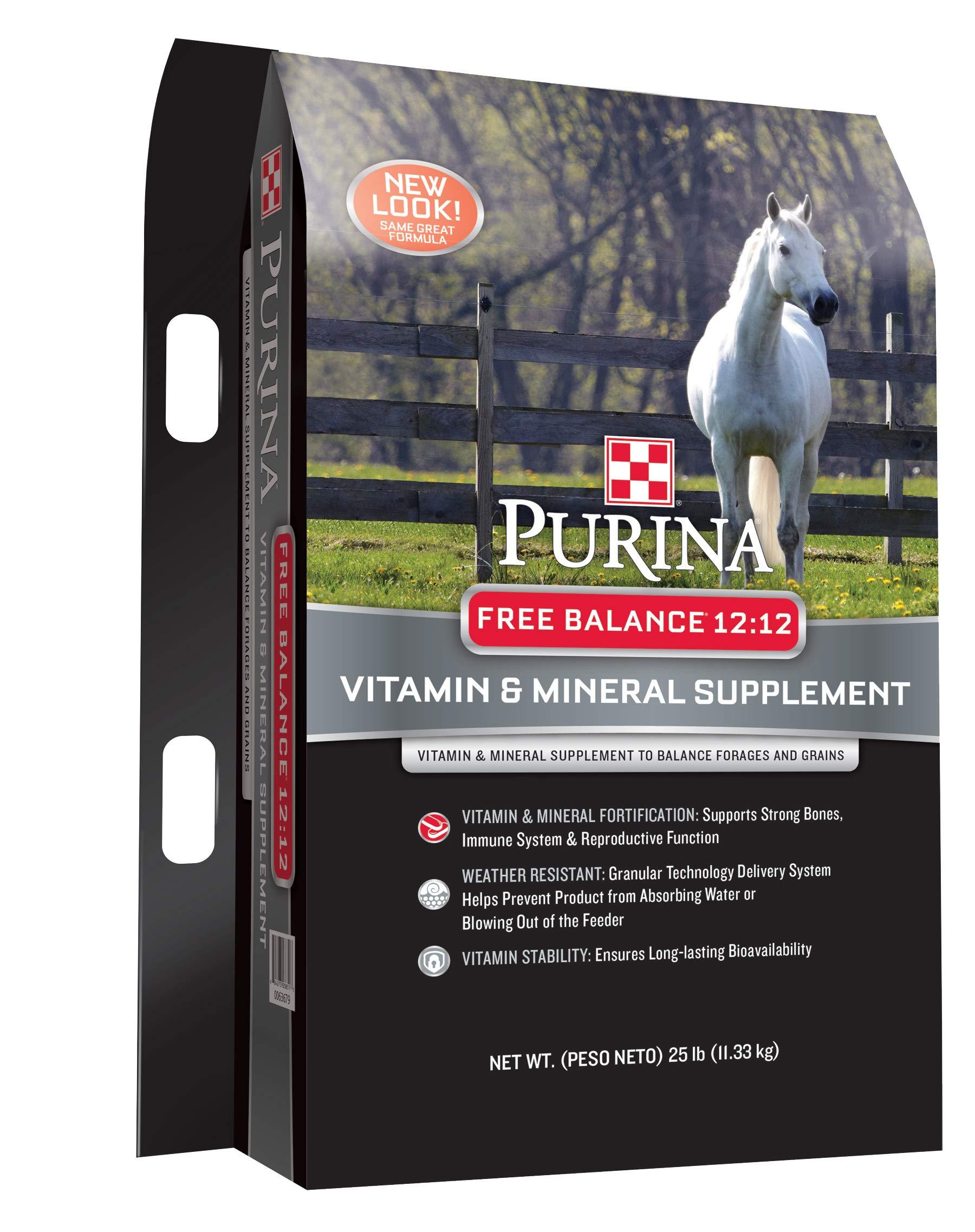 Purina Animal Nutrition Purina Free Balance 12 12 Horse Supplement 25lbs