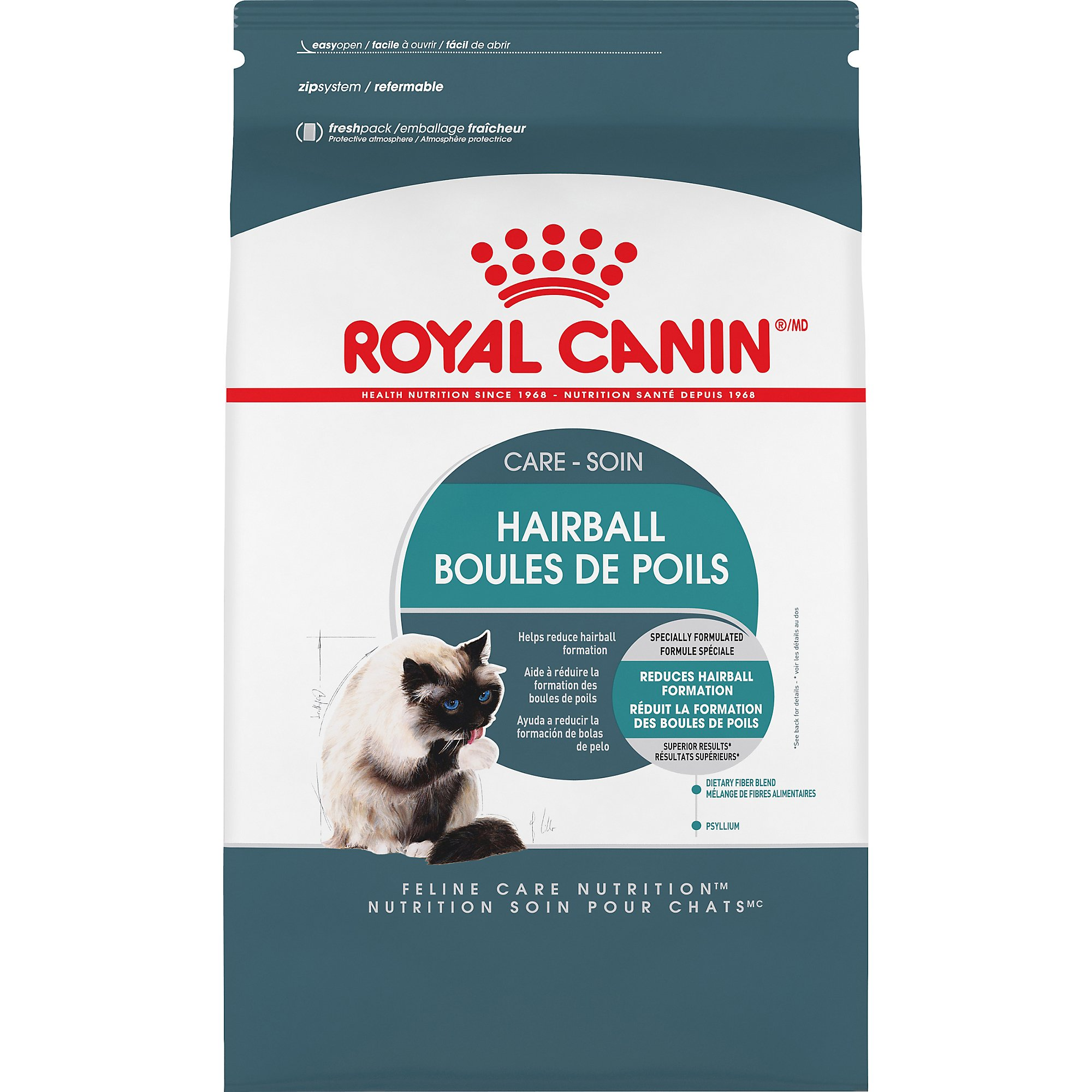Royal Canin Feline Care Nutrition Hairball Care, 6 lb