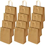 Cooraby 24 Pieces Paper Party Bags Hen Party Bags Kraft Paper Bag Bride Birthday Gift Bag Wedding Celebrations Bags for…