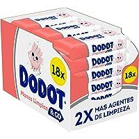 Dodot Manos Limpias & Go 18 Paquetes De 40 Unidades, 720 Toallitas, Toallitas Higienizantes De Manos Para Toda La…
