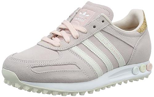 outlet store beedb 61e8c adidas La Trainer, Zapatillas para Mujer, Rosa (Halo Pink Off FTWR White),  40 EU  Amazon.es  Zapatos y complementos
