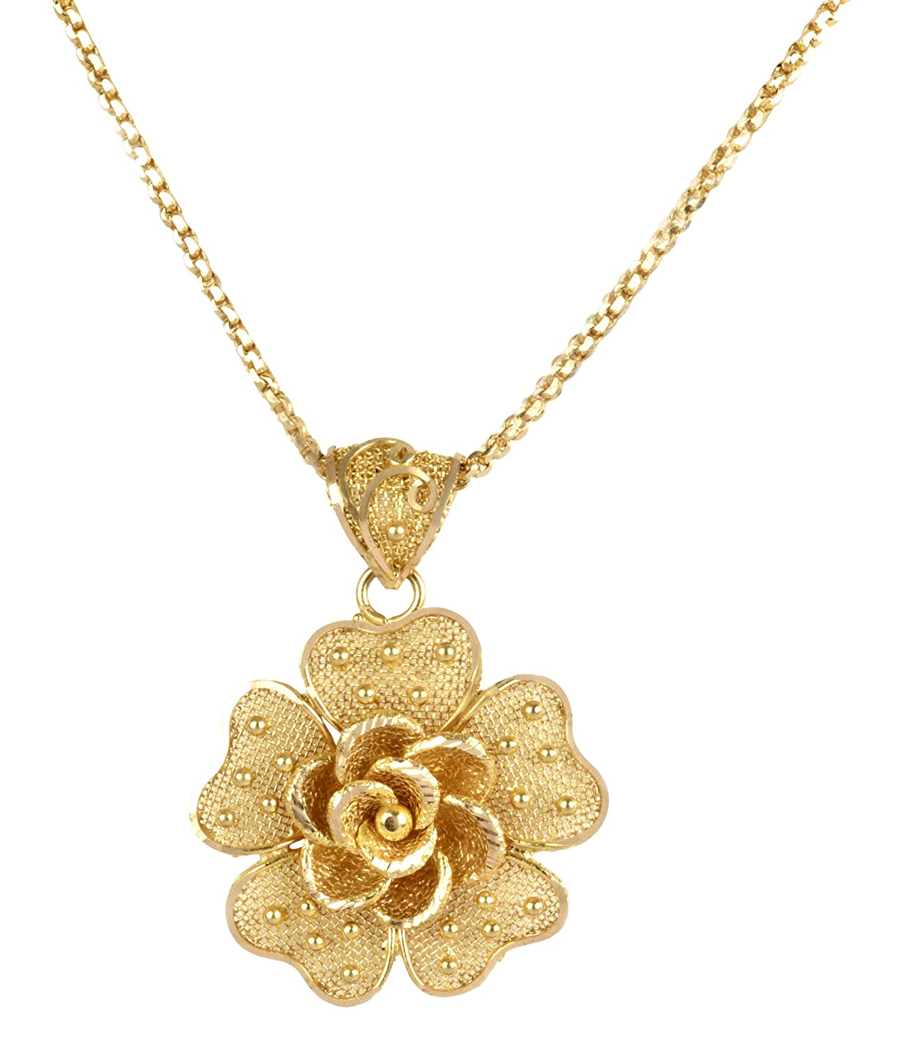 spargz product temple large pendant by fashion gold plated jewellery pendants necklace cid