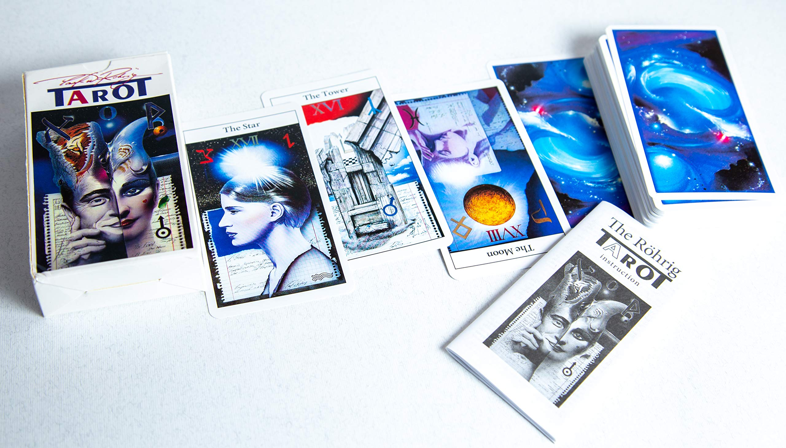 New 78 The Rohrig Tarot Tarot Cards Deck (Replica) Valentines Gift by Unknown (Image #5)