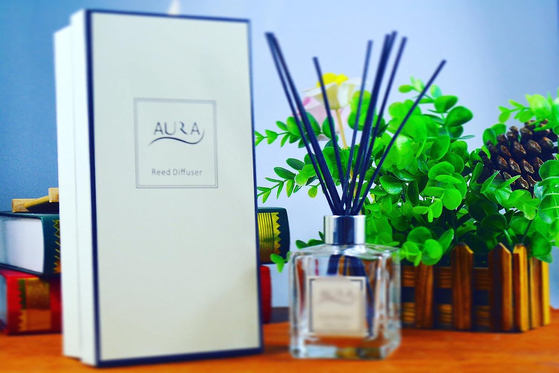 Luxe Aroma Diffuseur de parfum 120ml avec 10bâtonnets, fleur de lilas Aura Ltd