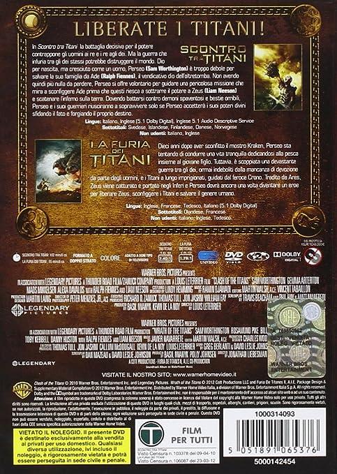 Amazon.com: La Furia Dei Titani / Scontro Tra Titani (2 Dvd ...