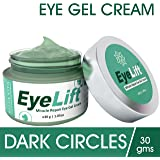 EyeLift - Miracle Repair Eye Cream Gel for Dark Circles, Under Eyes and Puffiness with Cucumber Extract, Aloe Vera, Tulsi, Almond and Jojoba, 30grams (Unisex)