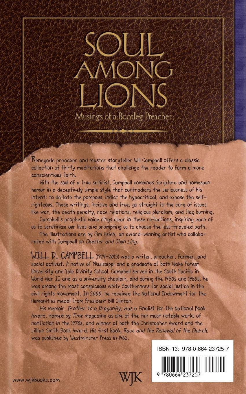 Soul among Lions: Musings of a Bootleg Preacher