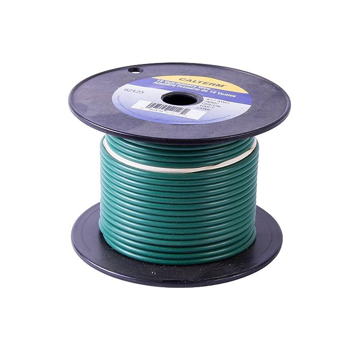 Calterm 50107 Primary Wire 8\' 10 AWG, Black: Amazon.ca: Automotive