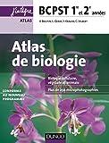 Atlas de Biologie BCPST 1re et 2e années - Conforme au nouveau programme