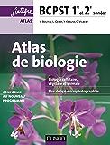 Atlas de Biologie BCPST 1re et 2e années : Conforme au nouveau programme (Concours Ecoles d'ingénieurs)
