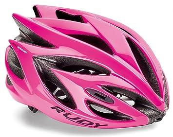 Rudy Project Rush - Casco de Bicicleta - Rosa Contorno de la Cabeza 51-54