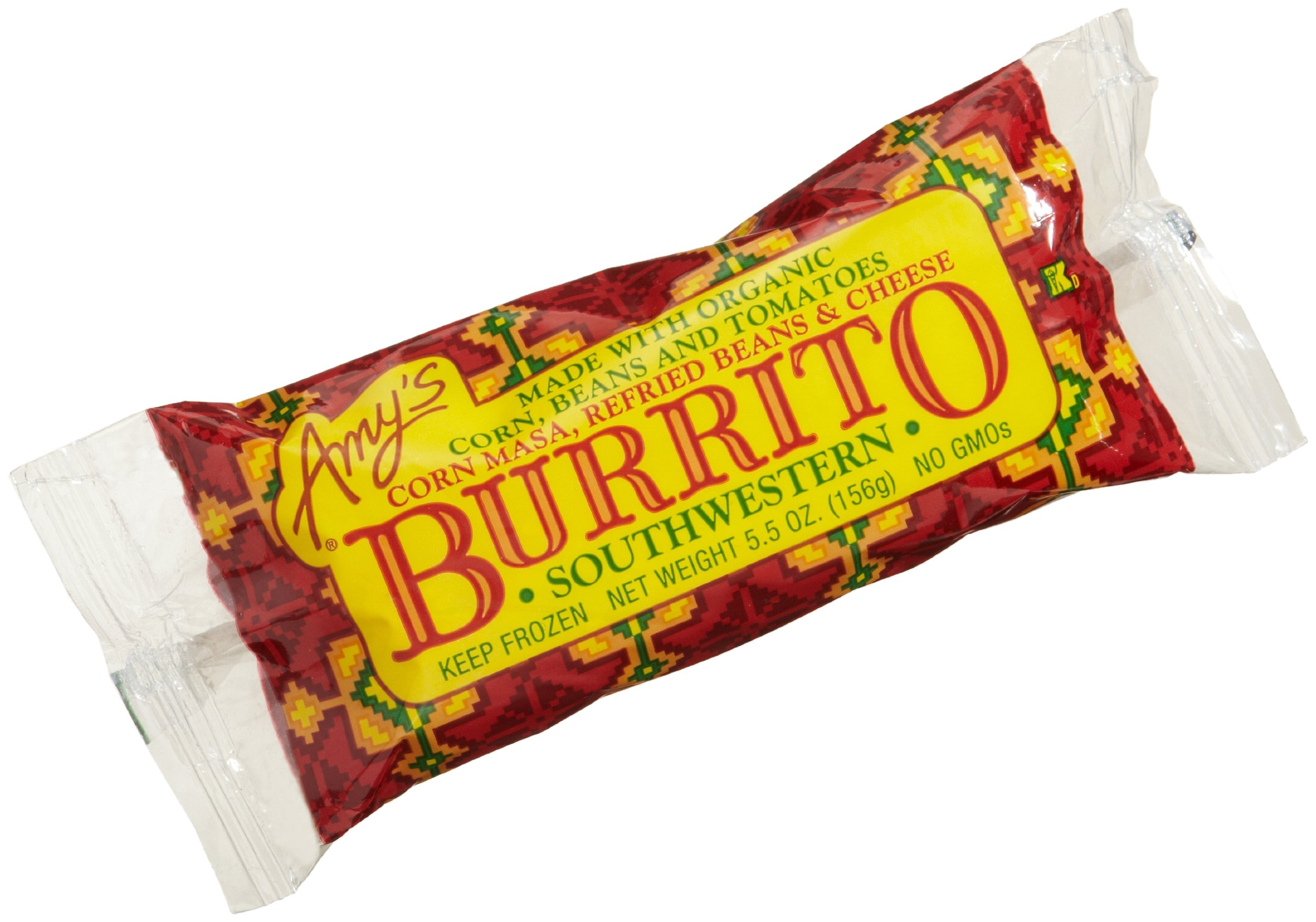 Amy's Southwestern Burrito, Organic, 5.5-Ounce Boxes (Pack of 12)