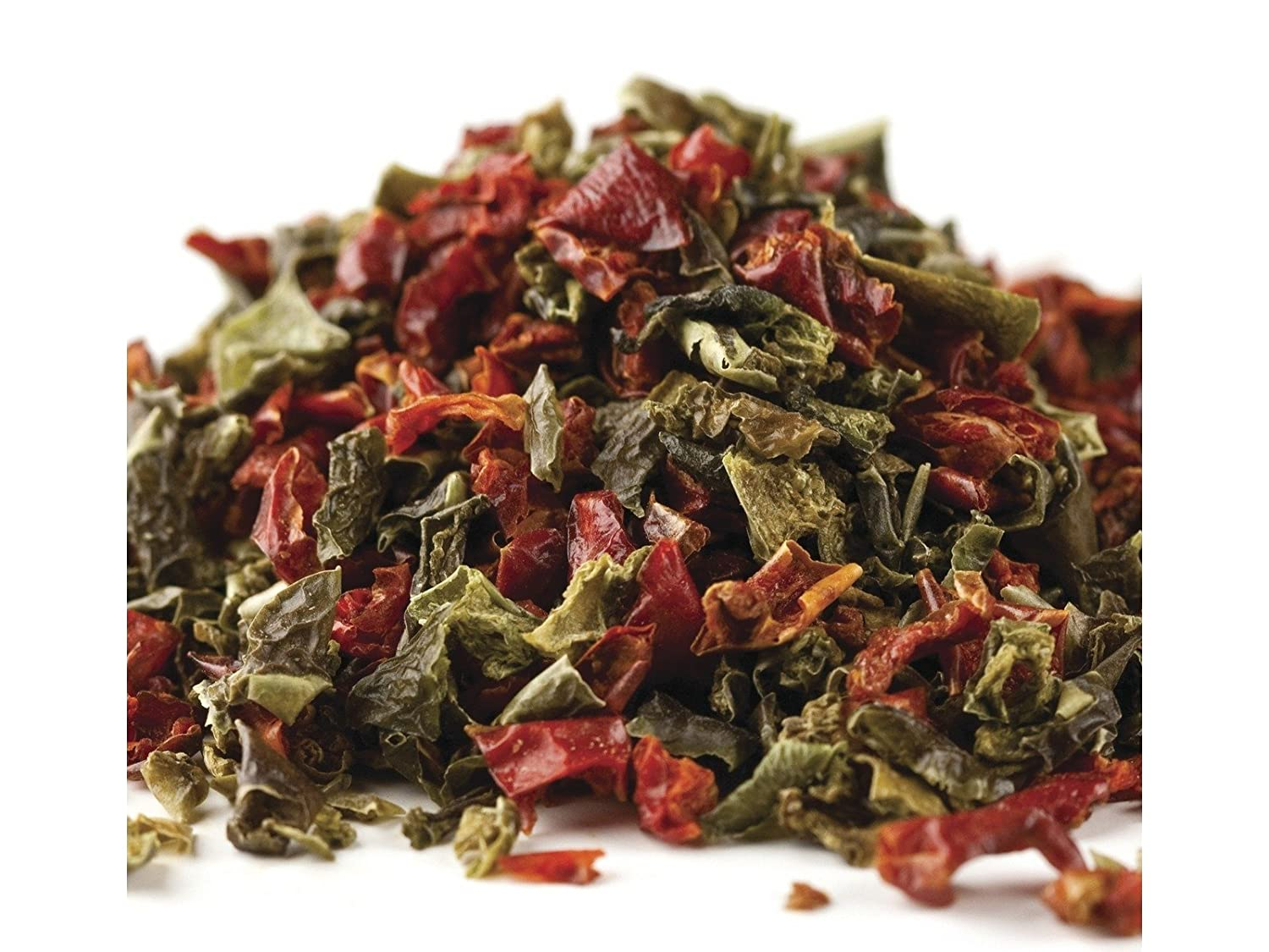 Dried Dehydrated Mixed Red and Green Bell Peppers, Diced (2 ounces)