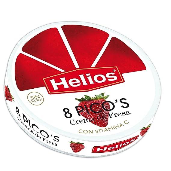 Helios Crema de Fresa en Picos - 170 gr