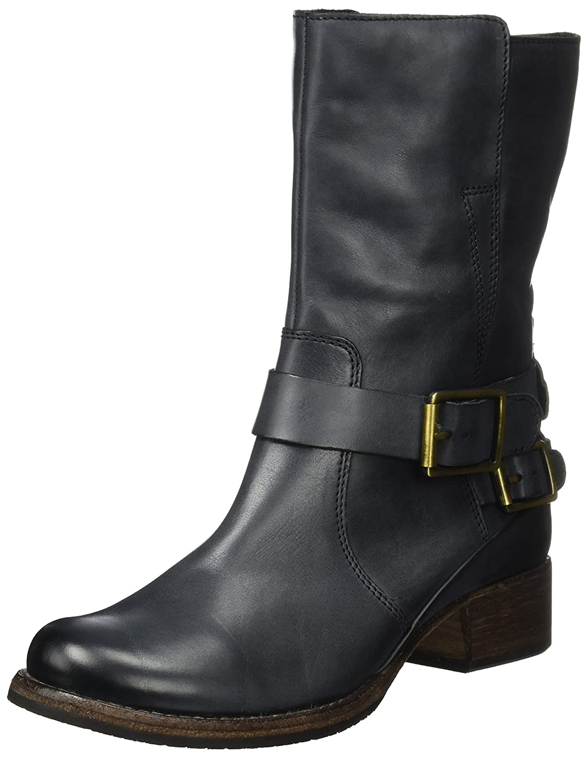 15da22f6b6c1 Clarks Women's Monica Soul Biker Boots: Amazon.co.uk: Shoes & Bags