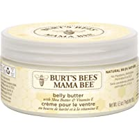 Burt's Bees® Mama Bee® Nourishing Belly Butter, Shea Butter and Vitamin E, Fragrance Free Lotion – 185 grams Tub