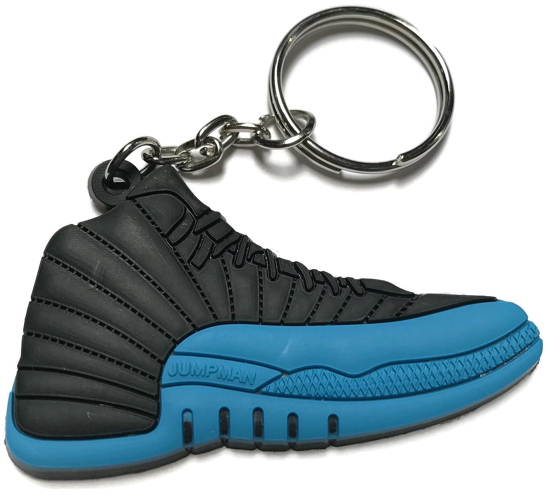Amazon.com: Air Jordan Retro llavero, diseño de 12), color ...
