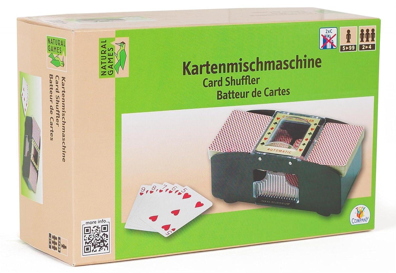Natural Games Kartenmischmaschine 2 Decks 64 Karten Kartenmischer mit Batterie VEDES Großhandel GmbH - Ware 0061906983