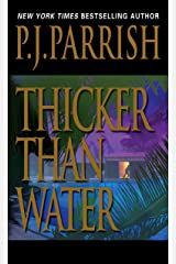 Thicker Than Water (Louis Kincaid) Mass Market Paperback