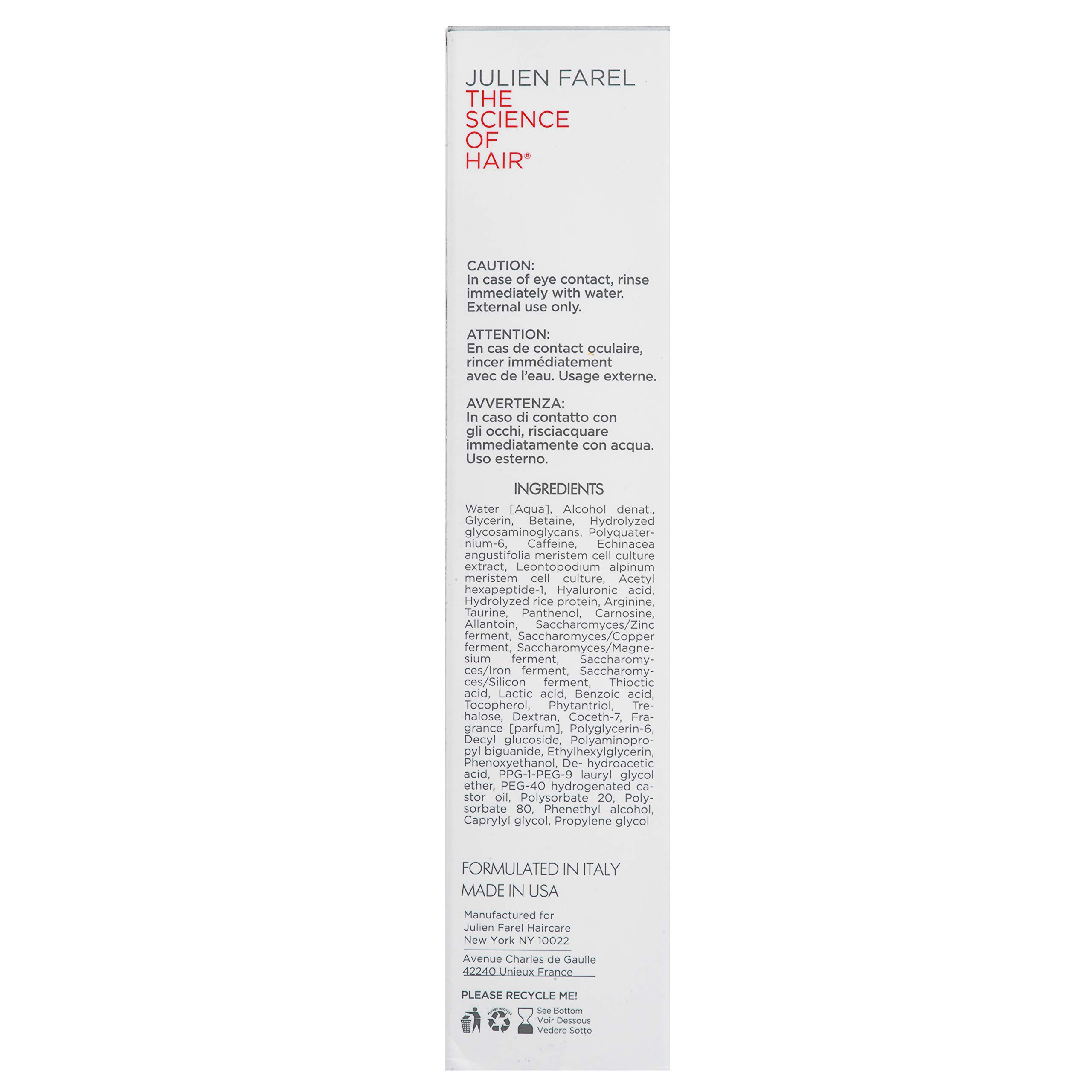 Julien Farel Magnifique Delay The Grey Hair & Scalp Serum, 1.7 Fl Oz – SLS & Paraben Free – Best for Normal, Fine, Thinning, Damaged and All Hair Types, As Seen on The View by Julien Farel Products (Image #4)