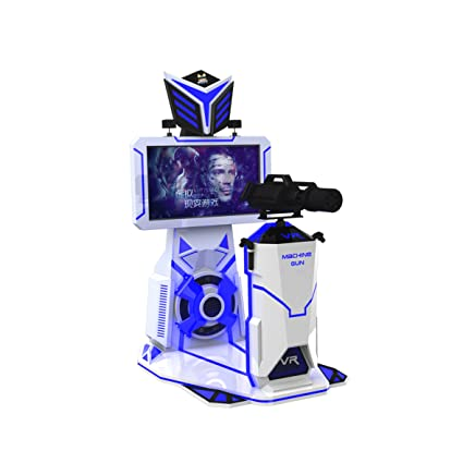 e06cb5dde3d3 Amazon.com  Corgi Charley VR Entertainment park equipment virtual screen  fight gatling 9d vr shooting simulator  Toys   Games