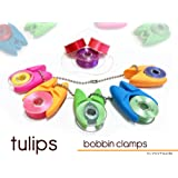 The Original TULIPS 'BOBBIN HOLDER / CLAMP'...Keep bobbin thread tails under control' (12 Pieces)