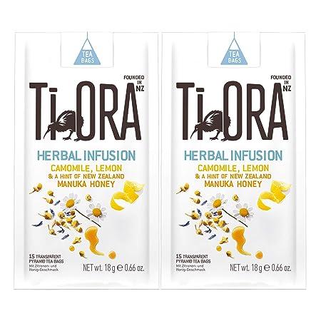 Ti Ora Herbal Infusion Camomile Lemon, té de Hierbas, té de ...