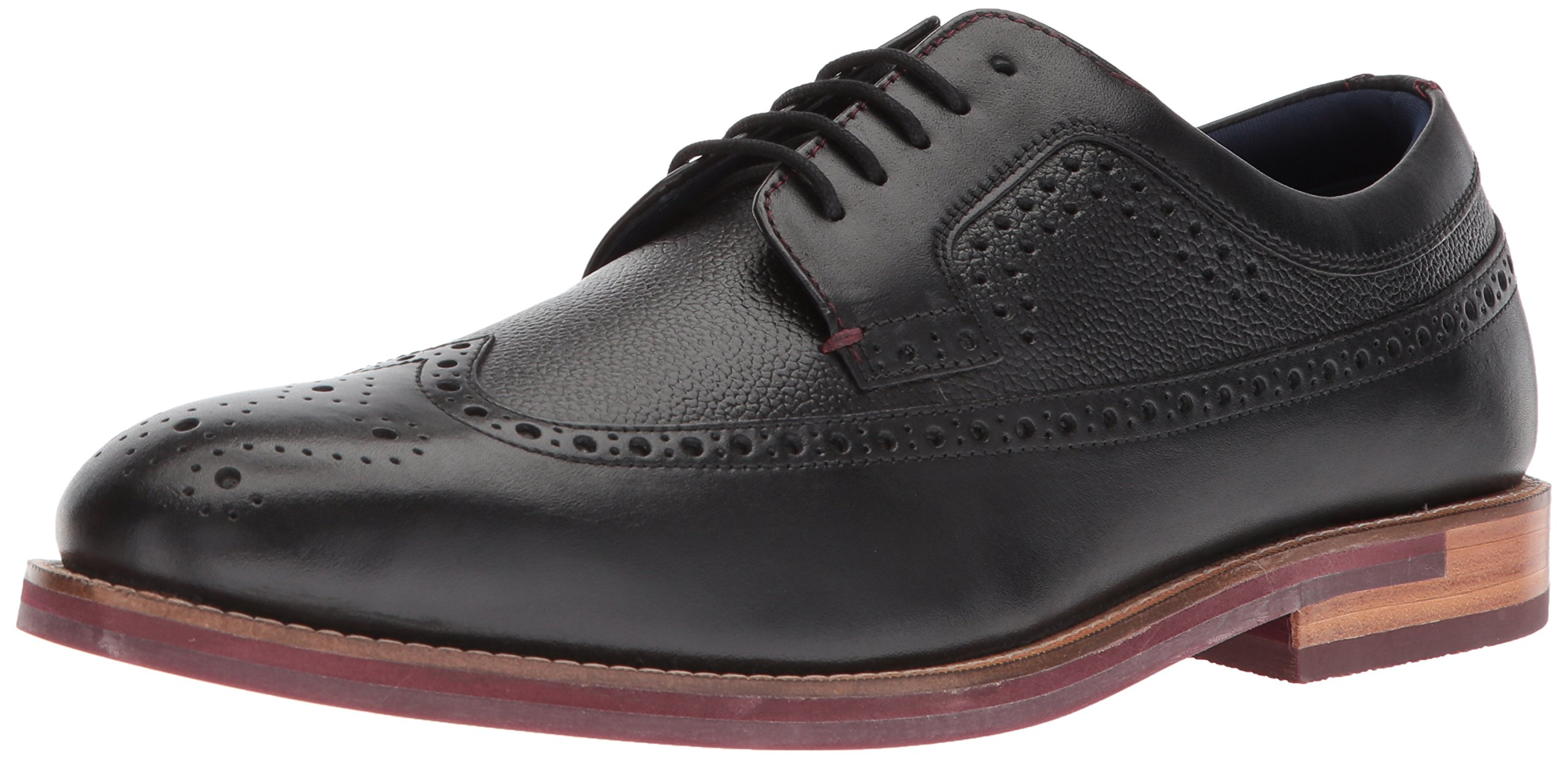 Ted Baker Men's Deelani Oxford, Black Leather, 7 D(M) US